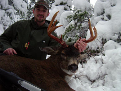 Hunting Alaska Sitka black-tailed deer with Muskeg Excursions